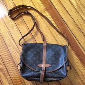 Louis Vuitton Saumur Monogram Crossbody Bag